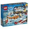 LEGO Klocki City Kwatera Straży Przybrzeżnej 60167