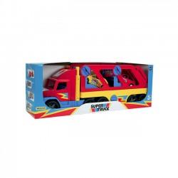 Wader Laweta z autkami 110 cm Super Truck pudełko