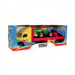 Wader Lora transportowa 78 cm Super Truck pudełko