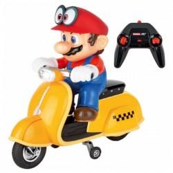 Carrera RC - Super Mario Odyssey Skuter, Mario 2.4GHz 1:20