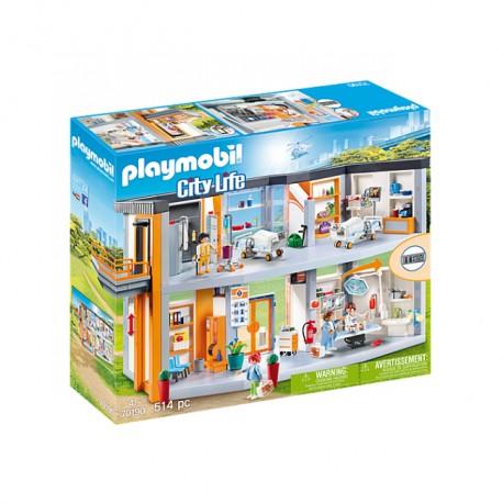 Playmobil - Duży szpital z wyposażeniem