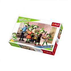 Puzzle 60 Rodzina Treflików Rodzinne śniadanie