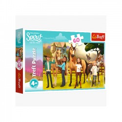 Puzzle 60 Spirit Riding Free Smak przyjaźni