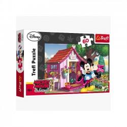 Miki i Minnie w ogrodzie