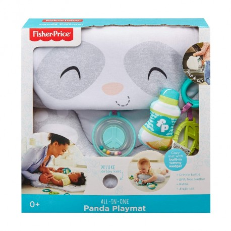 Fisher-Price - Mięciutka Mata do zabawy Panda