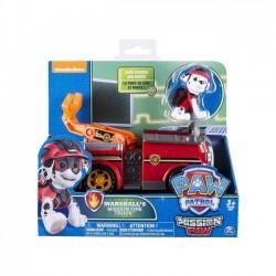 Pojazd specjalny z figurką - Wóz strażacki Marshalla
