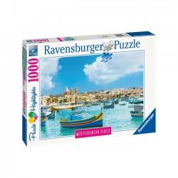 Ravensburger - Puzzle Śródziemnomorska Malta 1000