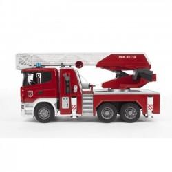 Bruder Scania R straż pożarna z pompą wodną