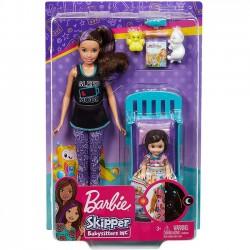 Barbie - Opiekunka dziecięca Zestaw Słodki sen