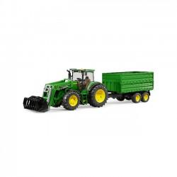 Bruder Traktor John Deere 7930 z przyczepą