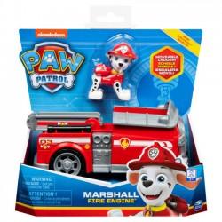 Psi Patrol - Pojazd z figurką Marshall Wóz strażacki