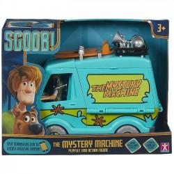 Scooby-Doo Wehikuł tajemnic + figurka Kudłaty